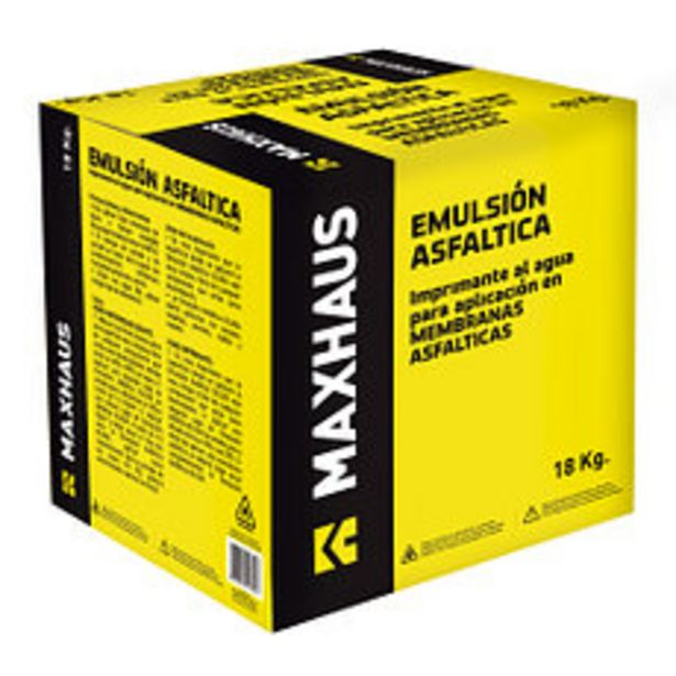 Oferta de Emulsión Asfaltica 18Kg. por $1415