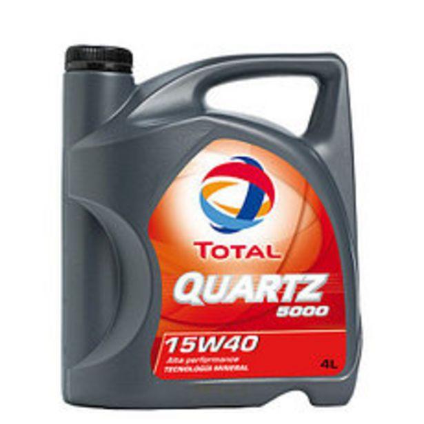 Oferta de Lubricante Quartz Total 5000 15W40 4 Lts por $2350