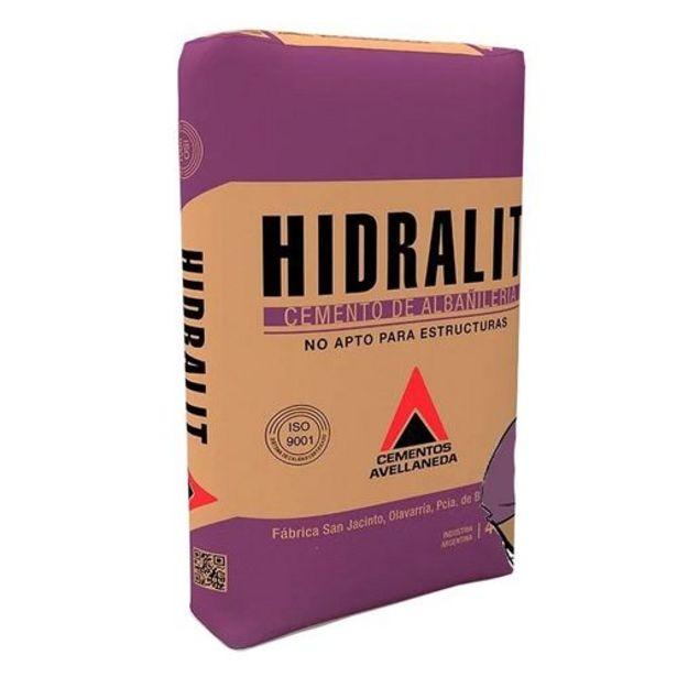 Oferta de Cemento Albañil Hidralit 40Kg. por $508