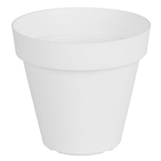 Oferta de Maceta 20 Cm. Plástica Capri Blanco por $384,8