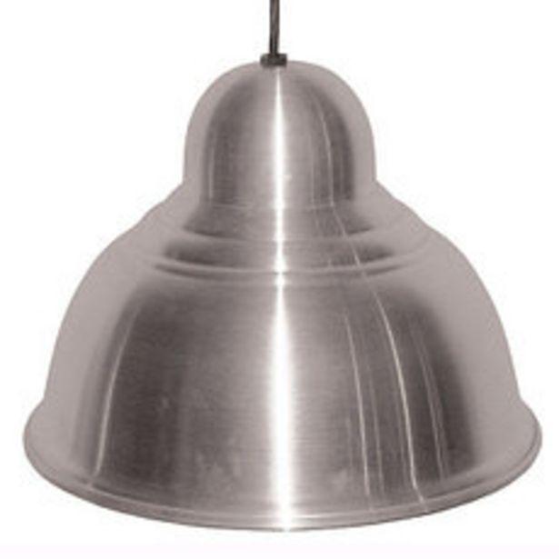 Oferta de Colgante Inc 1 Luz Aluminio 30Cm por $1895