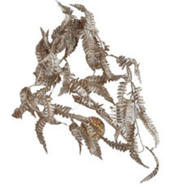 Oferta de Guirn Flores Champagn 170CM Metalica N1 por $419,3