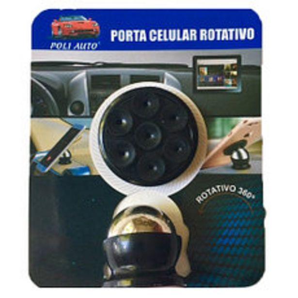 Oferta de Porta Celular Rotativo Con Ventosa por $390