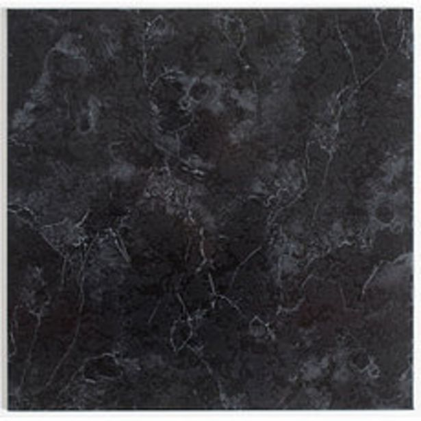 Oferta de Piso Cerámico Mara Negro 45x45cm por $1734,79