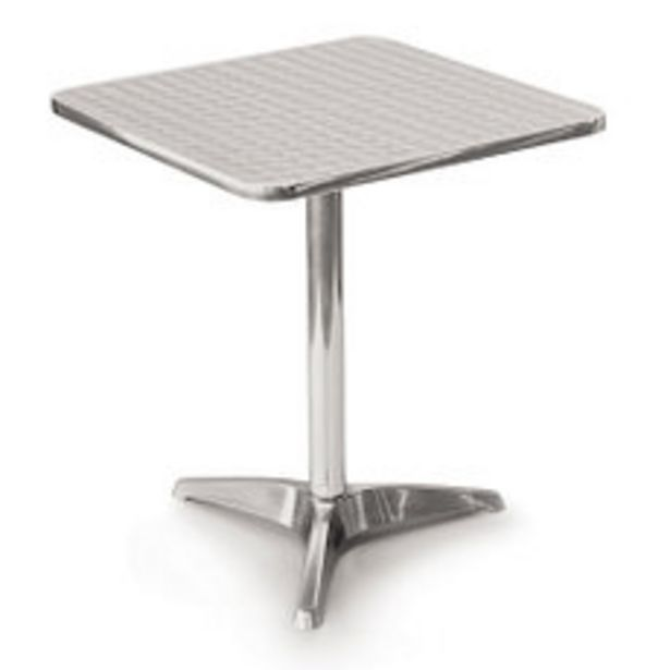 Oferta de Mesa Aluminio 60 X 70 Cm Bistro por $5516,5