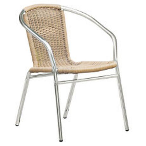 Oferta de Silla Aluminio y Rattan Natural por $3861