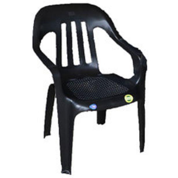 Oferta de Sillon Plastico Fiesta Negro por $2097