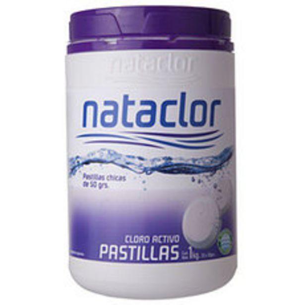 Oferta de Cloro Pastillas Chicas  X1Kg Nataclor por $1555,5