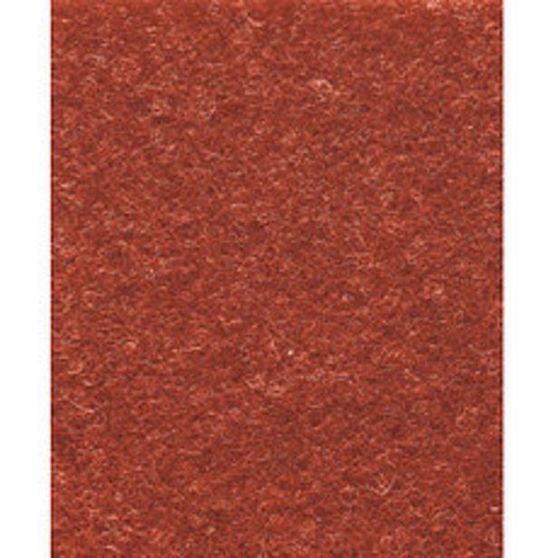 Oferta de Alfombra Punzonada Rojo 1 Mt por $349