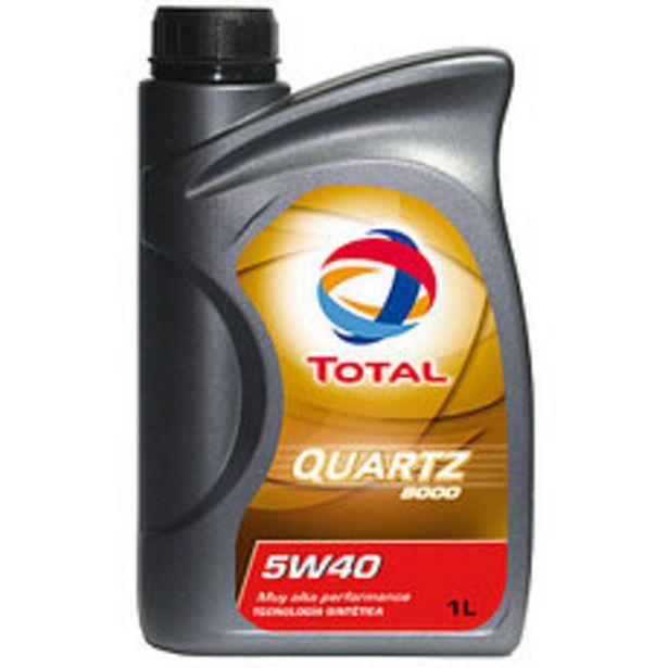 Oferta de Lubricante Quartz Total 9000 5W40 1 Lts por $927,5