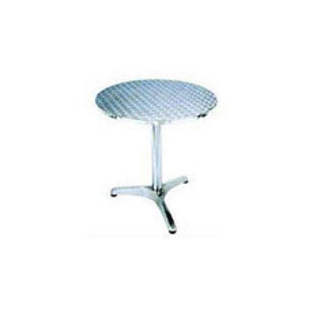 Oferta de Mesa Aluminio Redonda 60X70 Cm Bistro por $5990