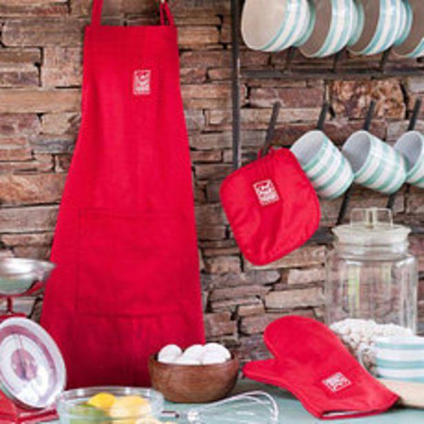 Oferta de Delantal Le Chef II Rojo por $949