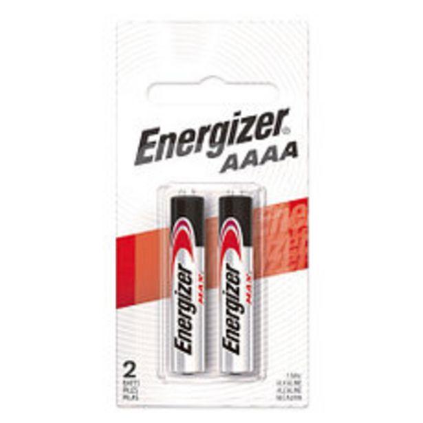 Oferta de Pila Energizer Aaaax2 por $205
