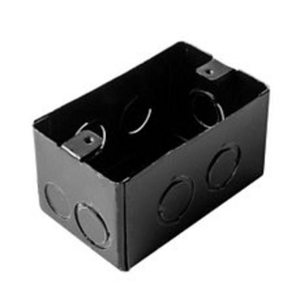 Oferta de Caja Rectangular 5x10 Hierro Negra por $299