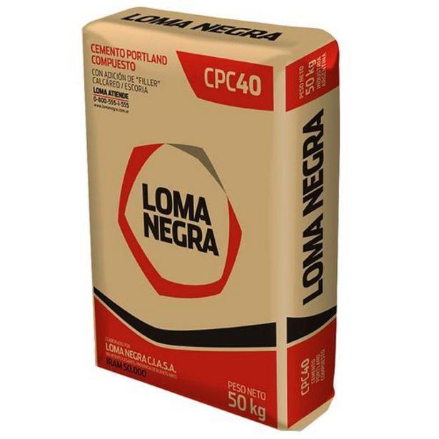 Oferta de Cemento Loma Negra 50 Kg. por $829