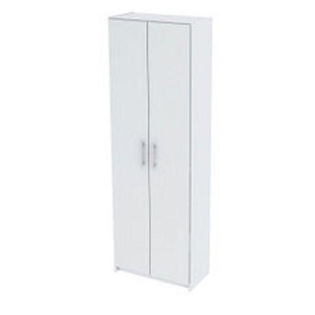 Oferta de Escobero 2 Puertas 60X32X180 Blanco por $7192