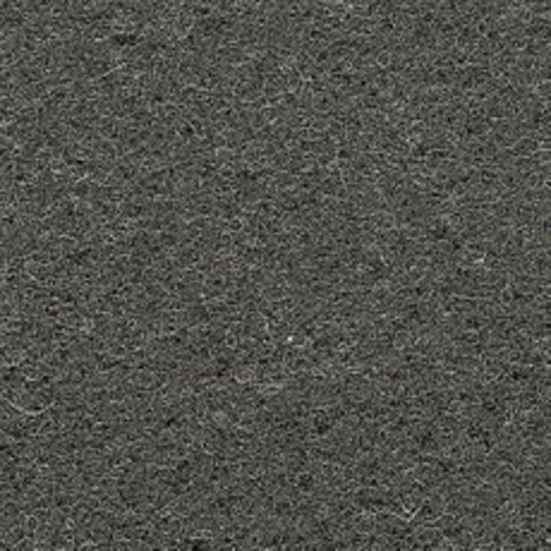 Oferta de Alfombra Punzonada Negro 1Mt por $349