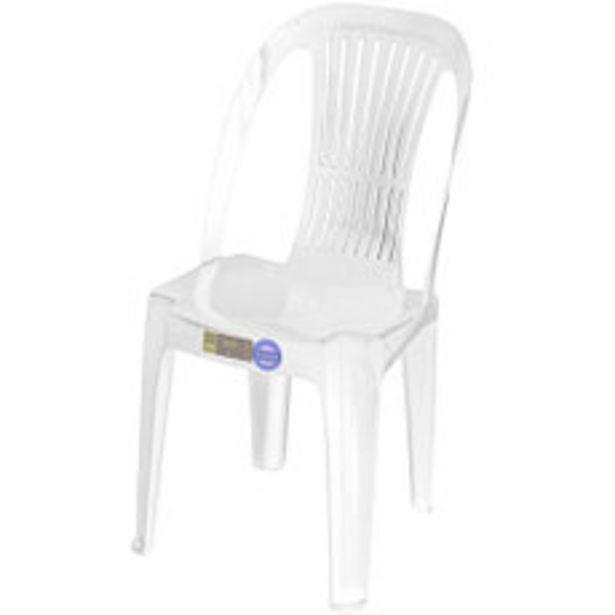 Oferta de Silla Plástica Gala Blanca por $3490