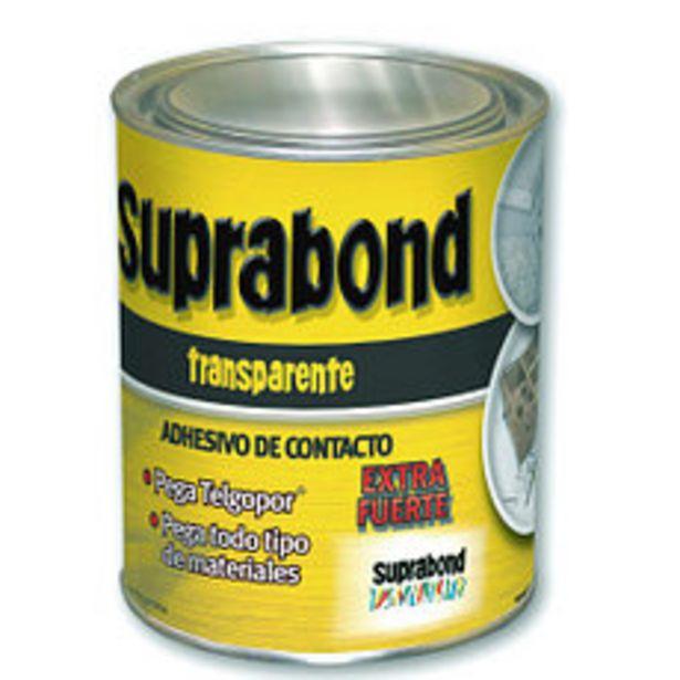 Oferta de Adhesivo Suprabond Transparente X 1/4 por $616