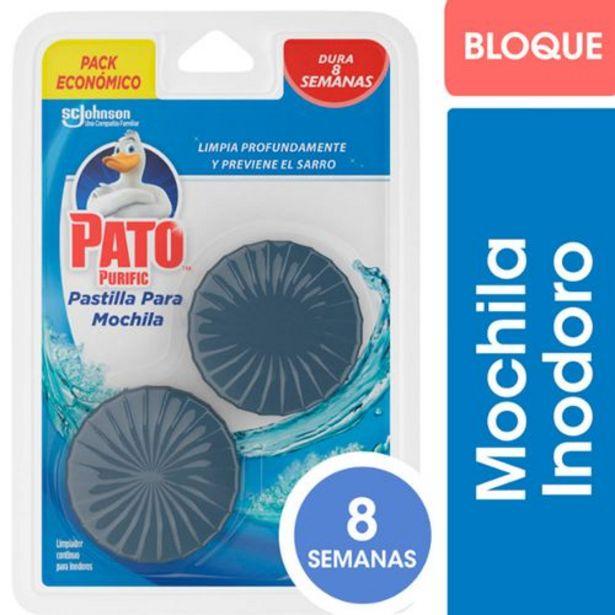 Oferta de Bloque Para Mochila 12x80 Gr Pato por $215,2
