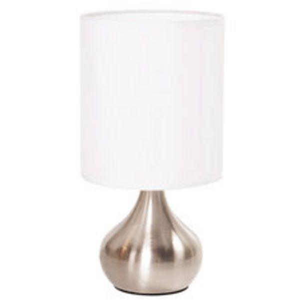 Oferta de Lámpara Sobremesa 1 Luz Touch 60W E27 por $2495