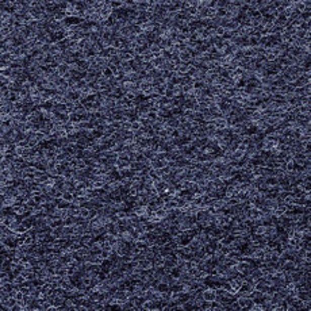 Oferta de Alfombra Punzonada Azul 1 Mt por $349