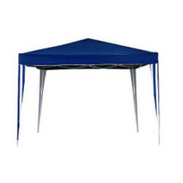 Oferta de Gazebo Plegable Azul Blanco 3X3Mts por $12990
