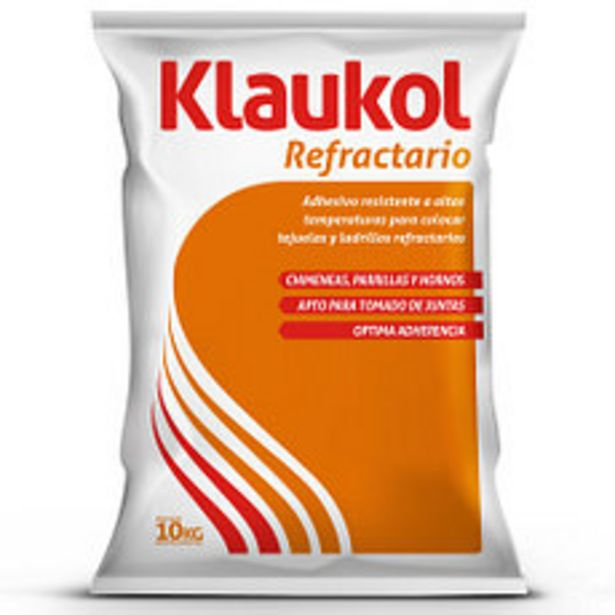 Oferta de Adhesivo Klaukol Refractario x10 Kg. por $1675
