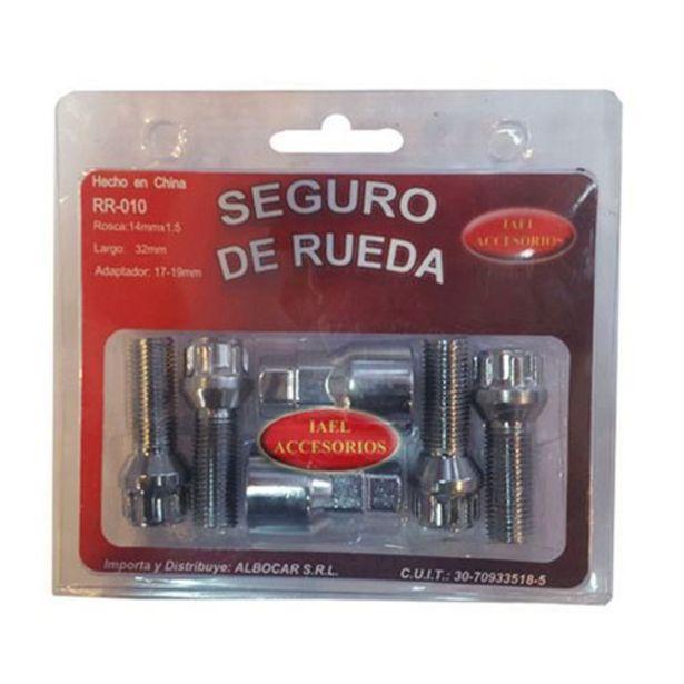 Oferta de Bulon Seguridad Albocar 4Un C/ 2 Adap R10 por $1772