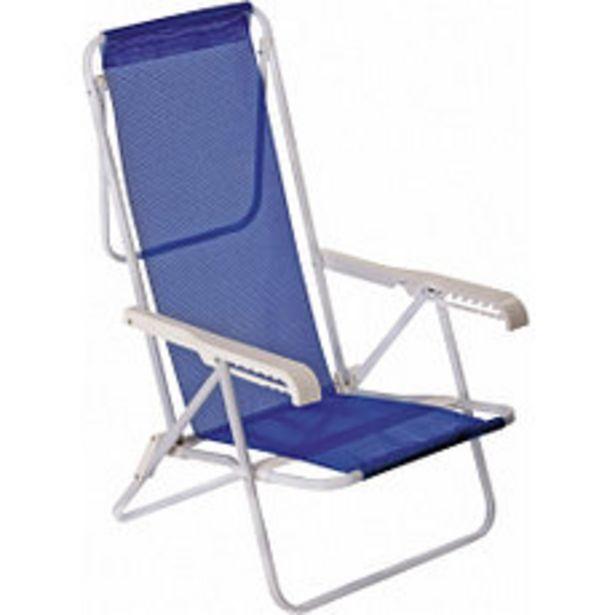 Oferta de Sillón De Caño Y Sanet 8 Posiciones Azul por $2961