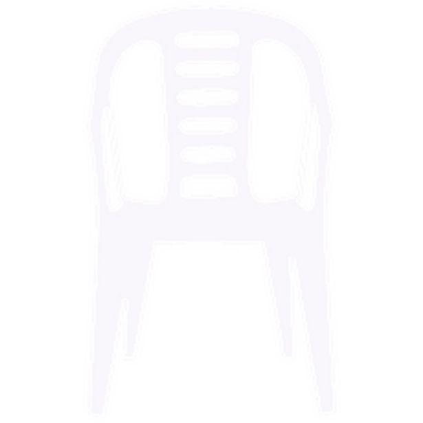 Oferta de Silla Plástica Garden Blanca por $1090