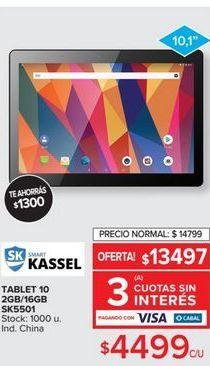 Oferta de Tablet 10 2gb/16gb  por $4499