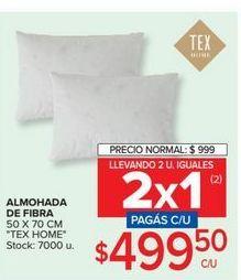 Oferta de Almohada de fibra por $499,5