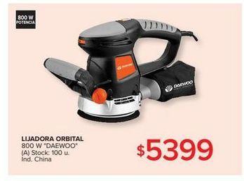 Oferta de Lijadora orbital por $5399