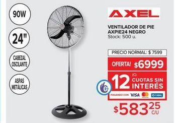 Oferta de Ventilador de pie AXEL  por $583,25