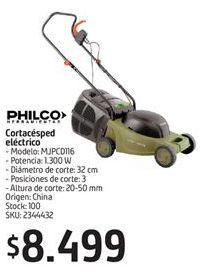 Oferta de Cortacésped eléctrico Philco por