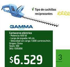 Oferta de Sierra Gamma por
