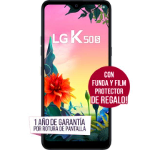Oferta de LG K50s con Funda y Film Protector DE REGALO por $20999