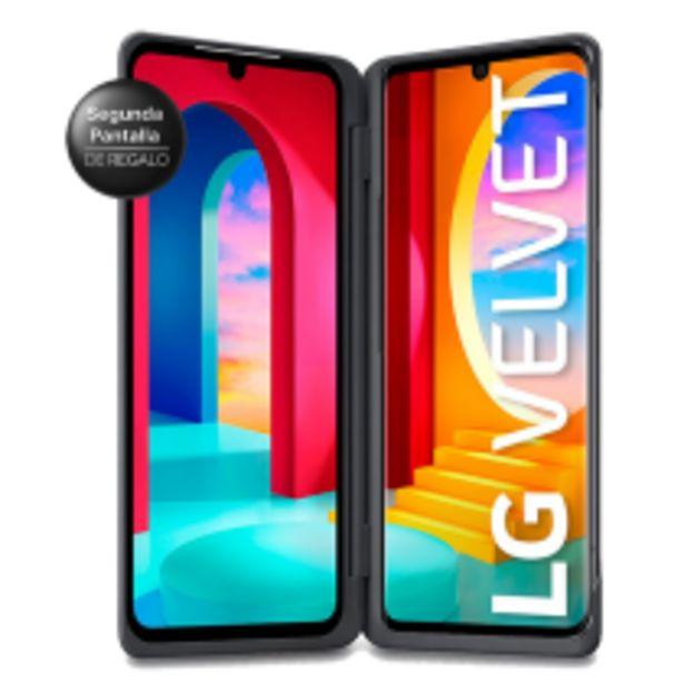 Oferta de LG Velvet con Segunda Pantalla DE REGALO por $69999