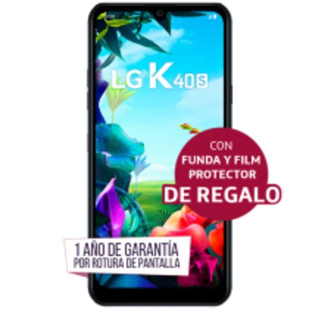 Oferta de LG K40s con Funda y Film Protector de REGALO por $19499