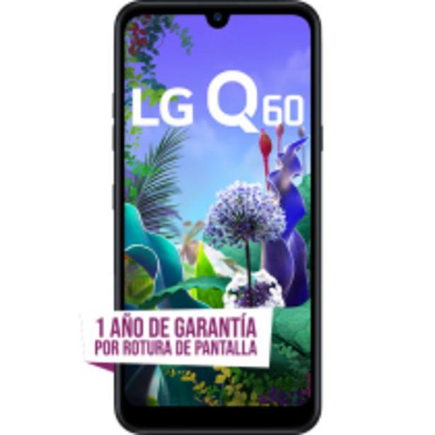 Oferta de LG Q60 por $24999