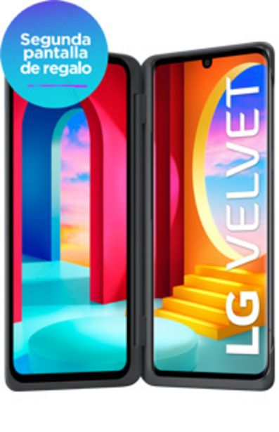 Oferta de LG Velvet con Doble Pantalla por $79999