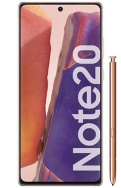Oferta de Samsung Galaxy Note20 256GB por $108999