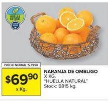 Oferta de Naranja de ombligo  por $69,9