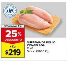Oferta de Pechuga de pollo por $219