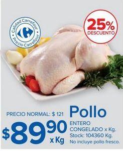 Oferta de Pollo por $89,9