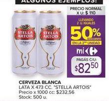 Oferta de Cerveza Stella Artois por $82,5