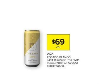 Oferta de Vino Dilema por $69