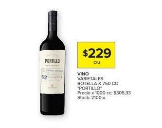 Oferta de Vino Portillo por $229