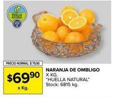 Oferta de Naranjas de ombligo por $69,9